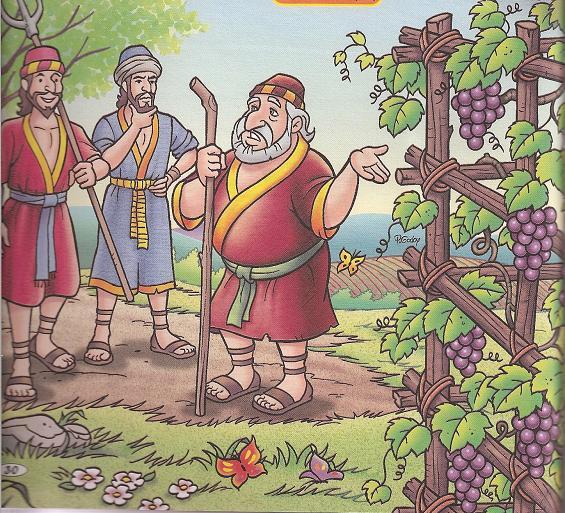 A PARÁBOLA DOS DOIS FILHOS  (Mateus 21: 28-30)