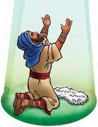 Prova da Lã na Eira   (Juizes 6:37-38)