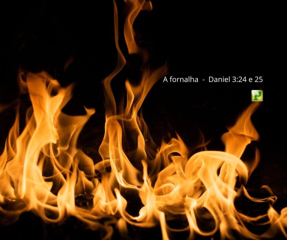 A fornalha  –  Daniel 3:24 e 25