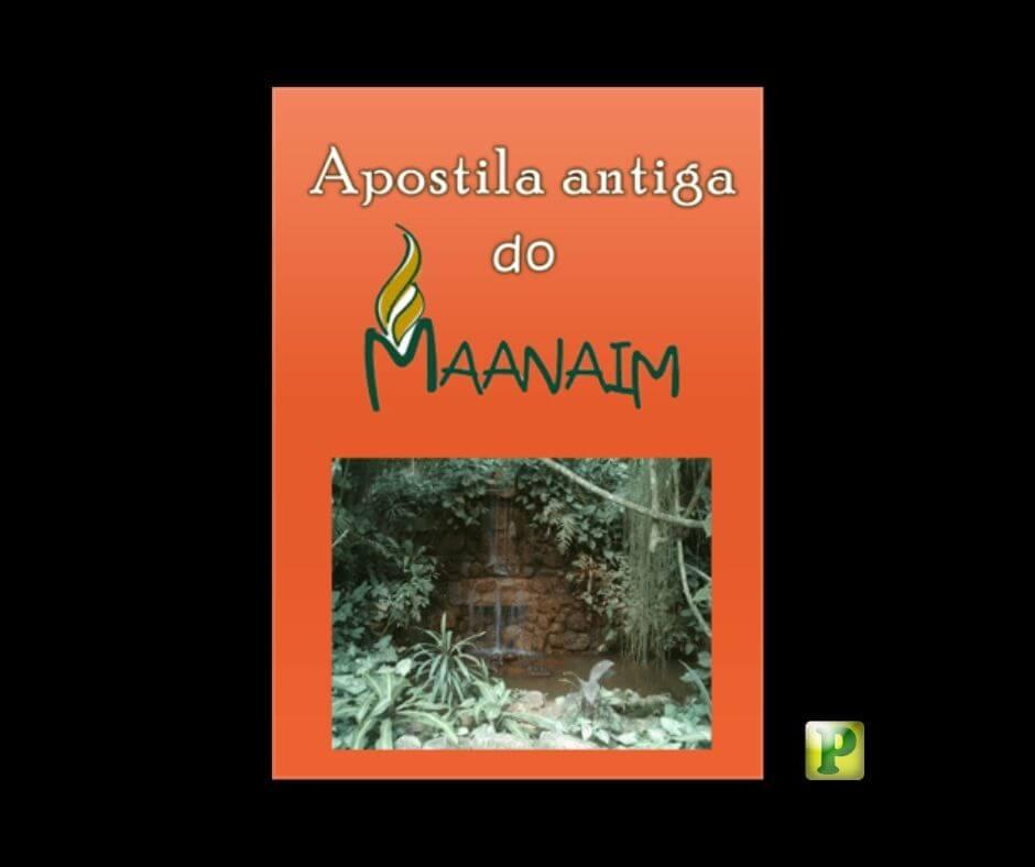 Apostila antiga do Maanaim