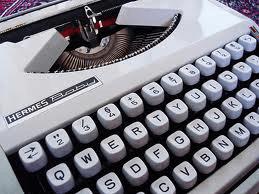 Ilustrações bíblicas – Máquina de escrever