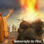 A Obra de restauração na vida do homem - I Reis 18:21, 30 - 39