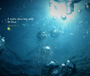 A minha alma tem sede de Deus – Salmos 42:1-3