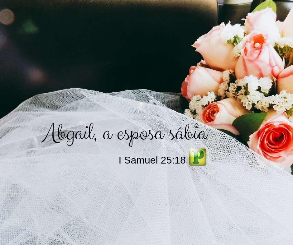 I Samuel 25:18, 23-28, 32-35, 39-42 – Abgail, a esposa sábia – Casamento