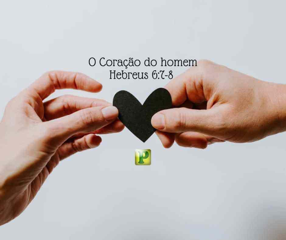 O Coração do homem – Hebreus 6:7-8