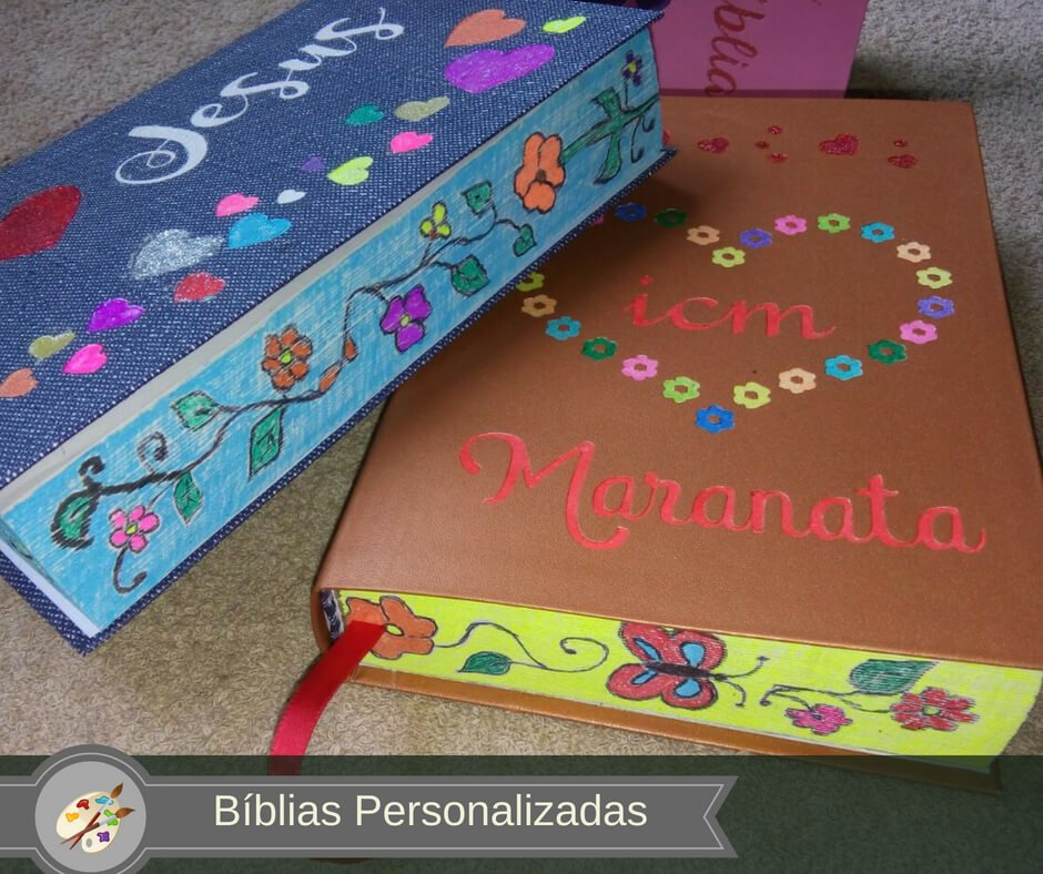 Bíblias Personalizadas e Bible Journaling