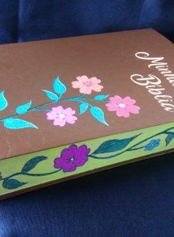 Bíblia Personalizada – Modelo Flores