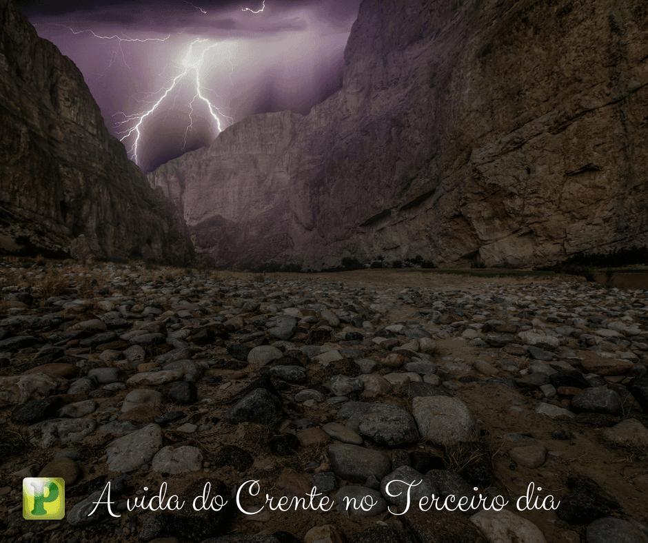 A vida do crente no terceiro dia – Êxodo 19:17 e 18