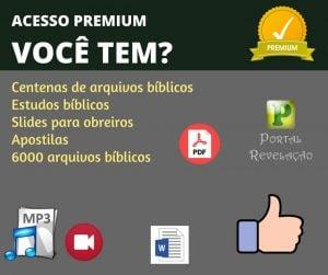 Premium 14-08-18 | Mensagens e Estudos
