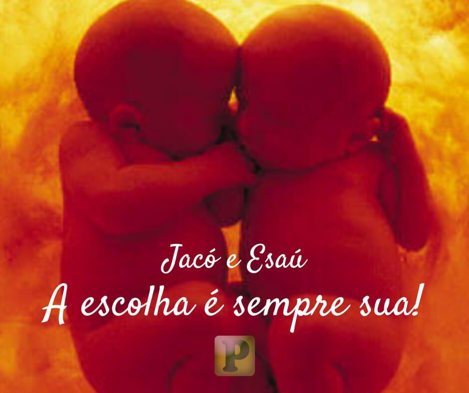 A escolha de Jacó | A escolha da Esaú – Gênesis 25:27