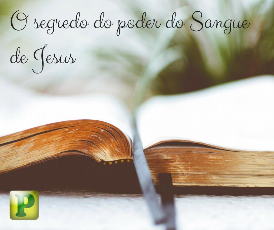 Livro – O segredo do poder do Sangue de Jesus