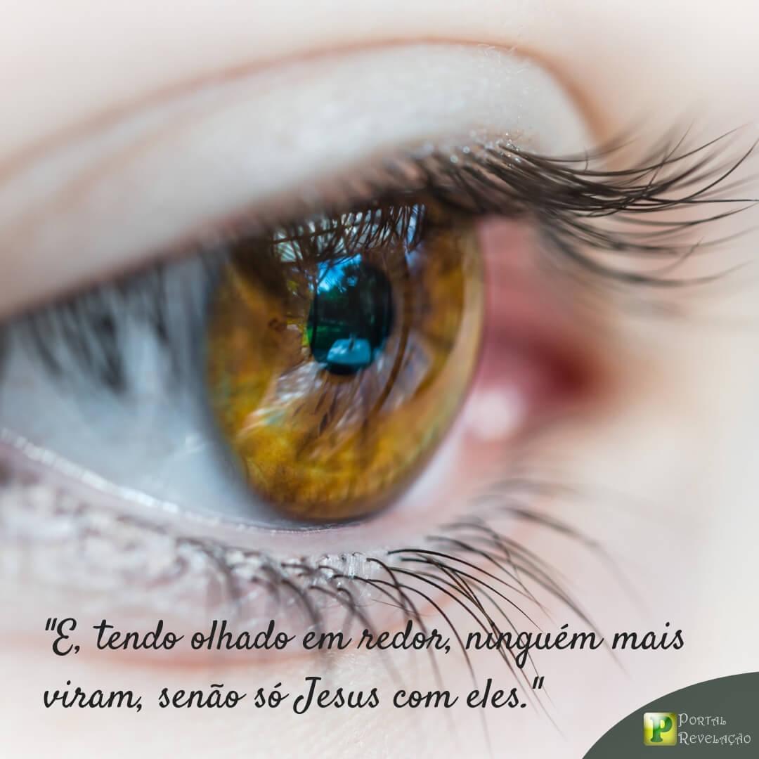 Jesus conosco – Marcos 9:8