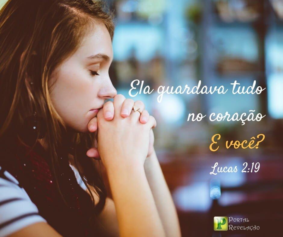 Maria guardava no coração – LUCAS 2.19
