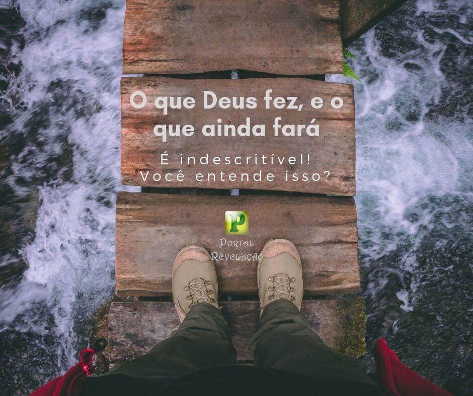 O que Deus fez, e o que ainda fará – Isaías 41:18