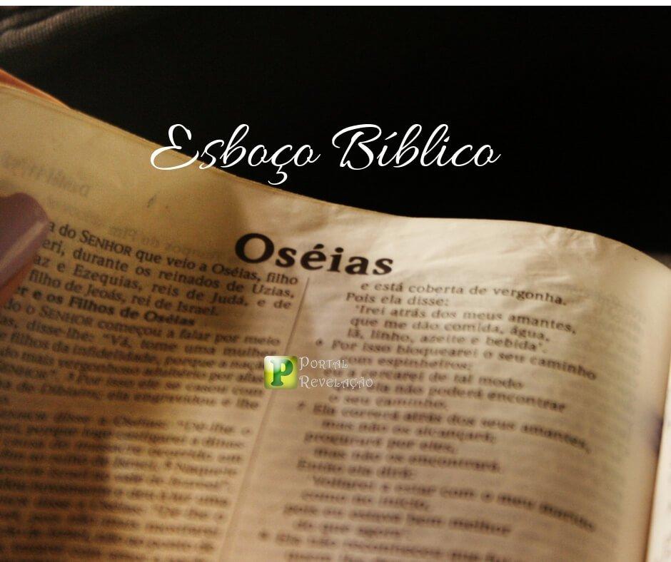 Oséias capítulo 3 – Esboço Bíblico