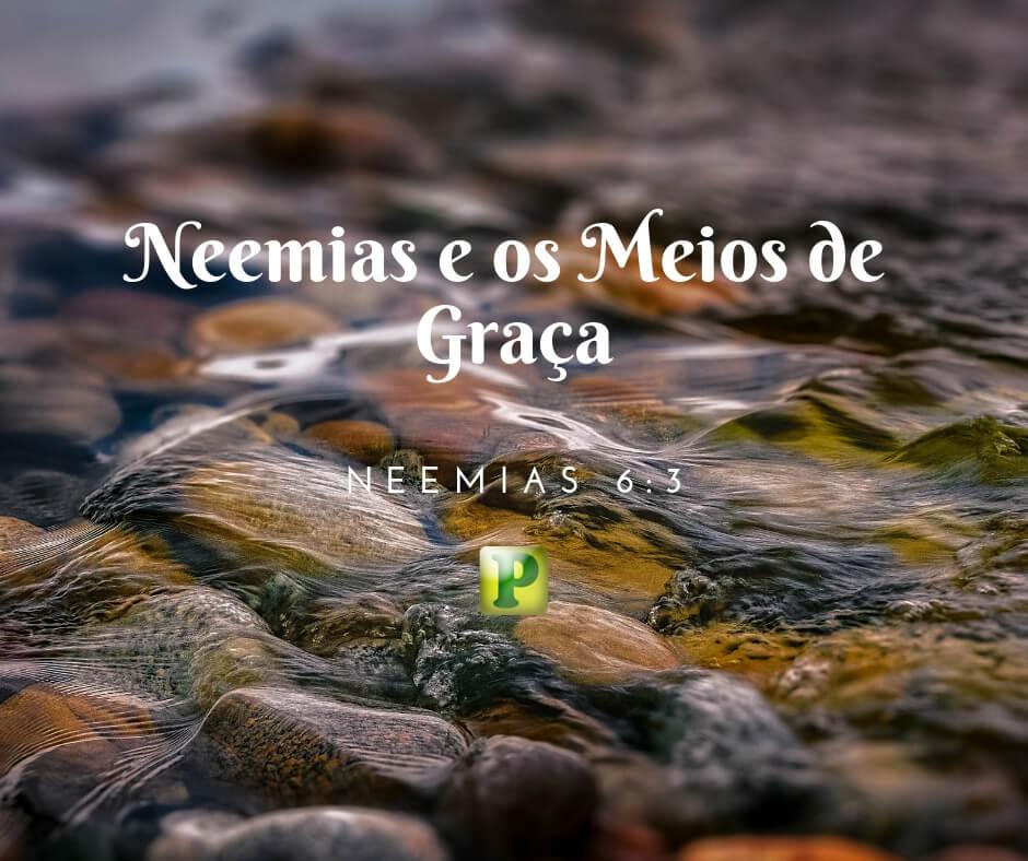 Neemias e os Meios de Graça – Neemias 6:3