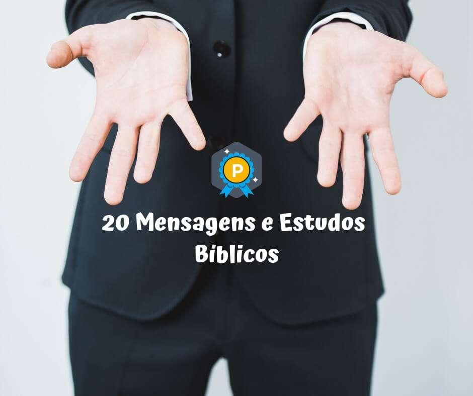 20 Mensagens e Estudos Bíblicos