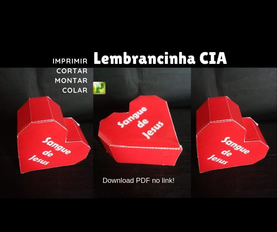 Lembrancinha CIA – Segue de Jesus