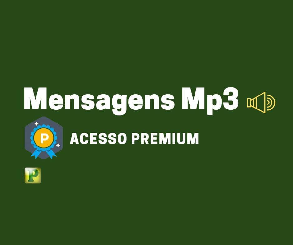 Mensagens em Mp3