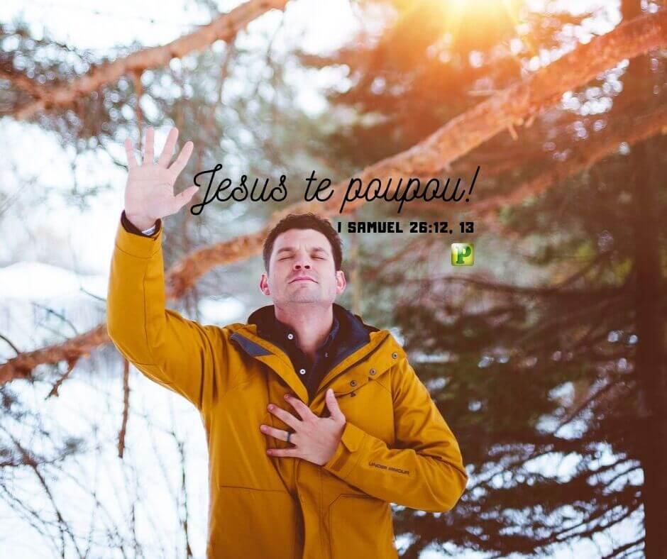 Jesus te poupou