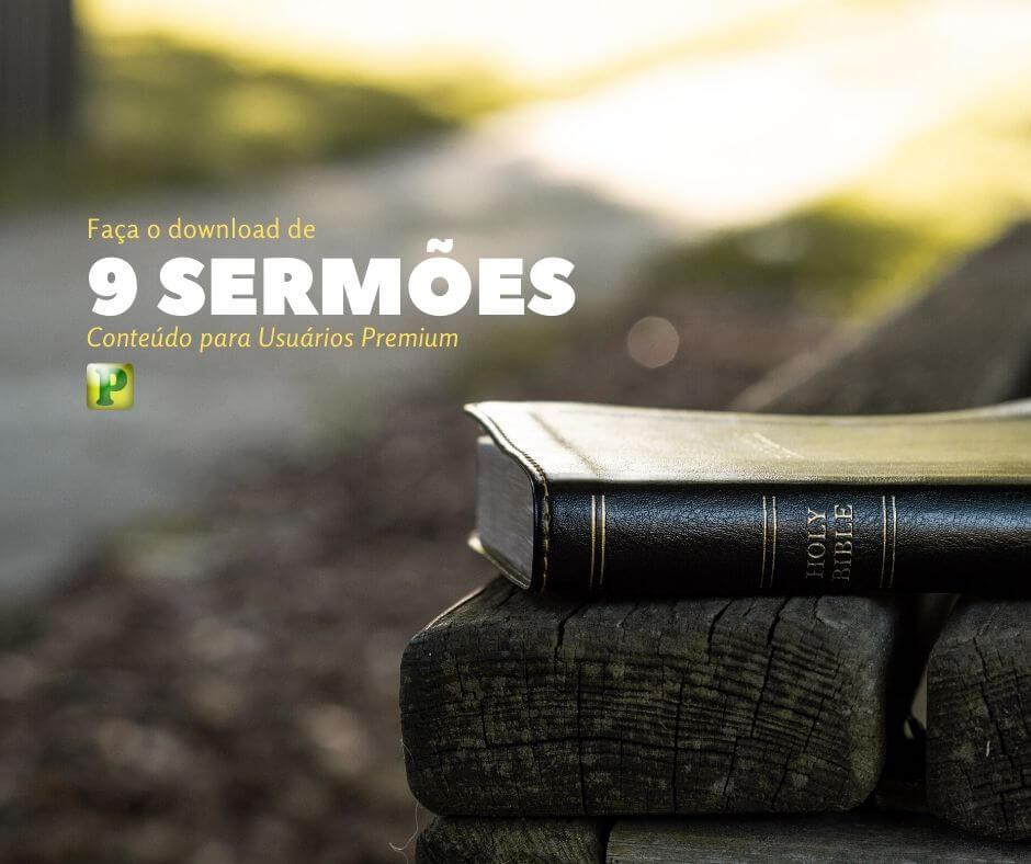 9 Sermões Bíblicos em WORD – Premium