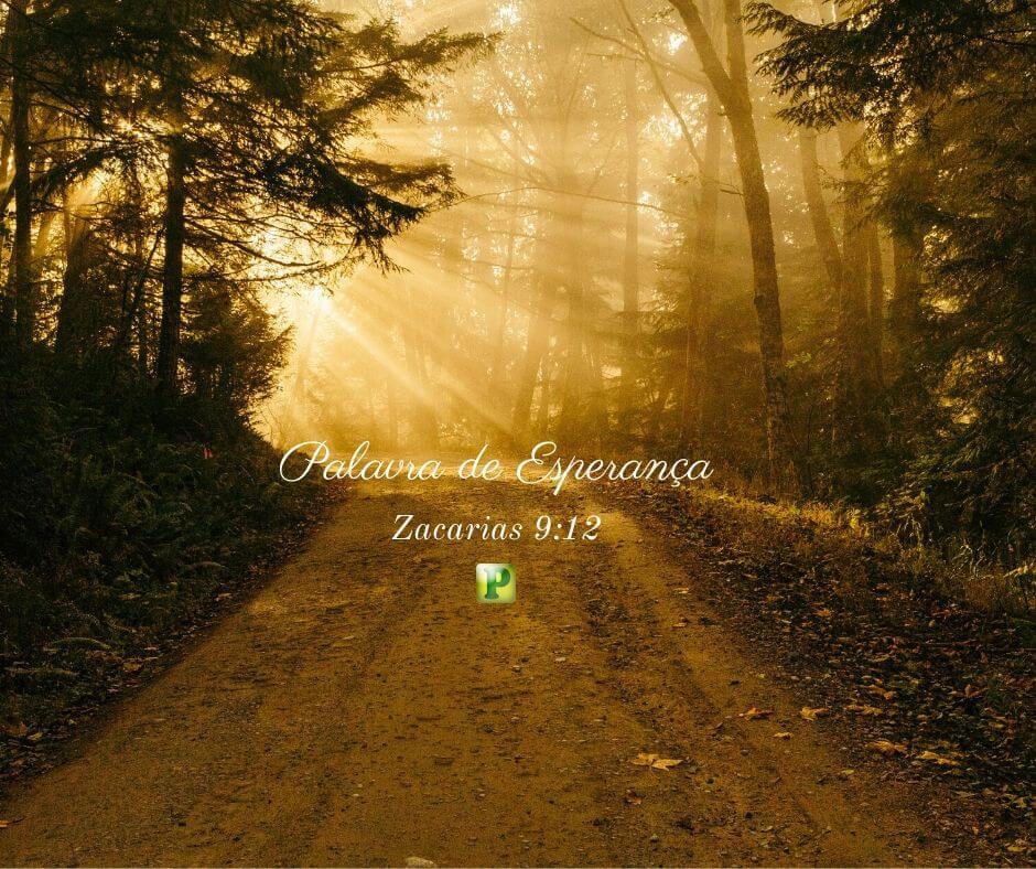 Palavra de Esperança – Zacarias 9:12