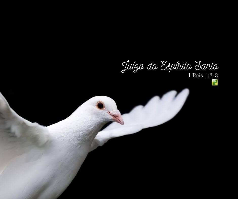 Juízo do Espírito Santo – I Reis 1:2-3