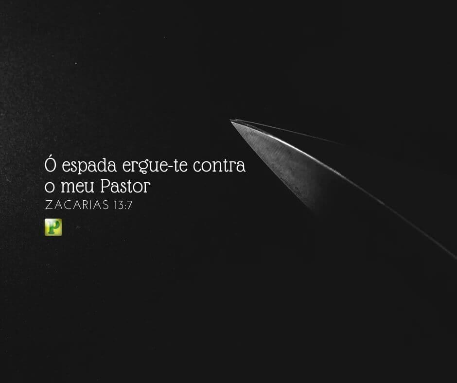 Zacarias 13:7 – Ó espada ergue-te contra o meu Pastor